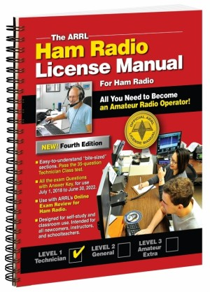 Ham Radio Technician Class License Manual 4th Edition - Spiral Bound