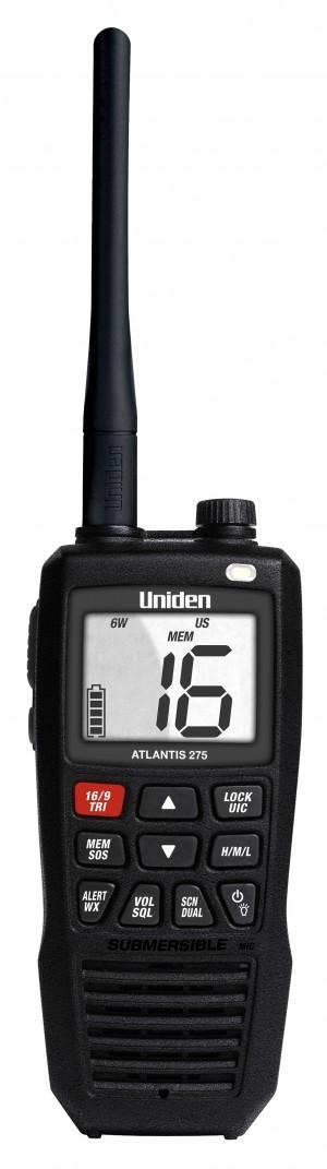 Uniden Atlantis 275 Handheld Marine Radio