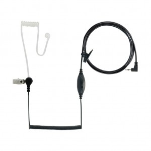Cobra Surveillance Earpiece w/ PTT and Microphone (GA-SV01)
