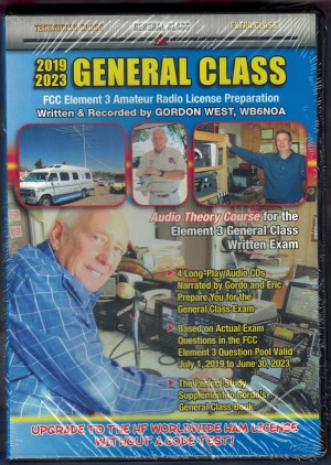 Gordon West General Class Upgrade Value Package (2019-23) w/ Audio Theory Course