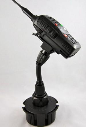 Lido Radio LM-801 Cup Holder Mount For Handheld Amateur Radios