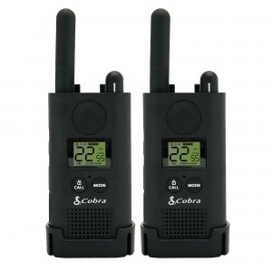 Cobra PX500-BG FRS Two Way Radios For Business (2-Pack, Includes Earpieces)