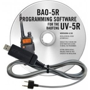 RT Systems Programming Software and Cable For Baofeng UV-5R