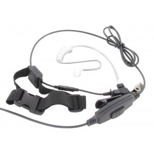 XLT TM250-S6 Adjustable Single Transducer Throat Mic