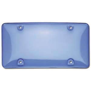 Blue Tinted TUF SHIELD Bubble Plate Cover - 73400