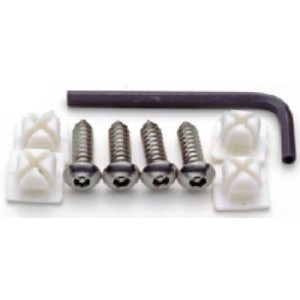 Locking Fasteners (Screws) for Plate Covers/Frames - 81200