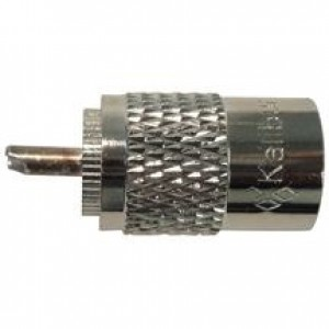 ProComm KPL-259 Solder Style PL259 Male Connector For RG58