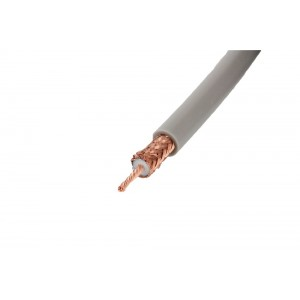 Tram RG-8X Double Shield Coaxial Cable Custom Length (per foot)