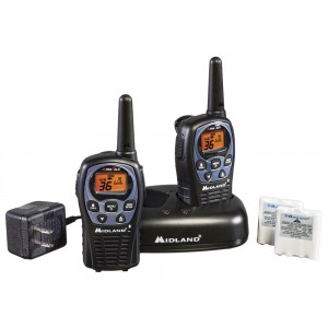 Midland LXT560VP3 Two Way Radios With Charger