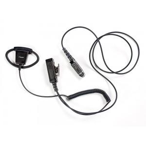 Impact Platinum P1W-D1 Adjustable Rubber D-Ring Earpiece