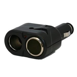 XLT Two Port Cigarette Lighter Adapter / Splitter CA200