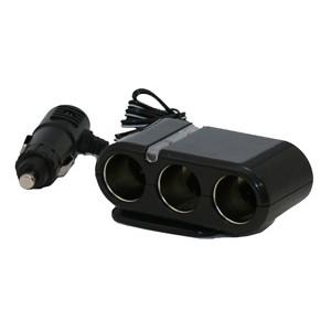 XLT Three Port Cigarette Lighter Adapter / Splitter CA300