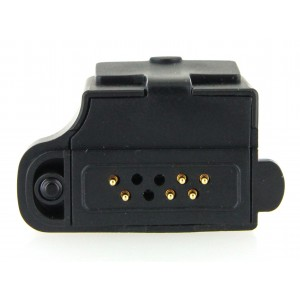 XLT Icom Multi-pin (S8) to Two-Pin (S6) Audio Adapter