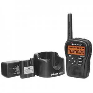 Midland HH54VP2 SAME Handheld Weather Radio w/ Charger