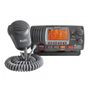 Cobra MR F77B / MR F77W Class-D Fixed Mount Marine Radio w/GPS