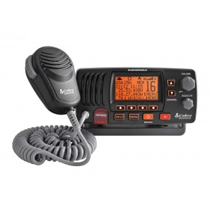 Cobra MR F57B / MR F57W Class-D Fixed Mount VHF Marine Radio