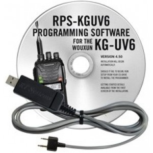 RT Systems Programming Software and Cable For Wouxun KG-UV6D