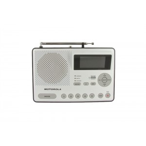 Motorola MWR839 AM/FM Weather Alert Radio