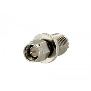 Tram 5780 SMA Male to Mini-UHF Female Adapter