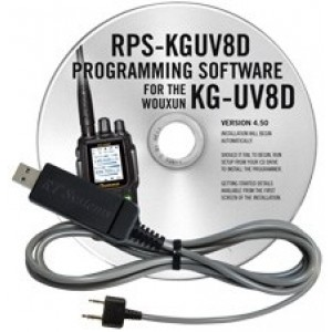 RT Systems Programming Software and Cable For Wouxun KG-UV8D