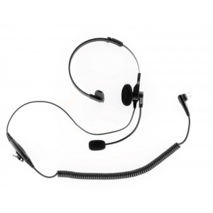 Impact Platinum POH-2 OEM Style Single Muff Headset w/Inline PTT