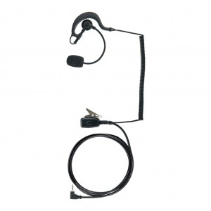Cobra Earpiece w/ Push-To-Talk and Boom Microphone (GA-EP02)
