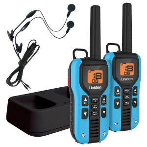 Uniden GMR4055-2CKHS Two Way Radios with Headsets and Charger