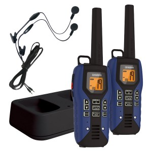 Uniden GMR5095-2CKHS Two Way Radios with Headsets and Charger
