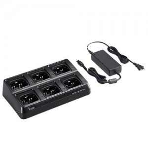 Icom BC214 6-Unit Multi-Charger For F1000/F2000 Series Radios