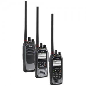 Icom F3400D / F4400D Digital Two Way Radio w/ GPS and Bluetooth