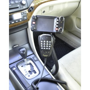Lido Radio LM-300-1000EXP Seat Bolt Mount With Microphone Holder for Two Way Radios