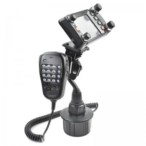 Lido Radio Cup Holder With Mic Mount For the Yaesu FTM-400 FTM-350 FTM-100 FT-891