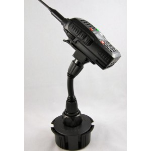 Lido Radio LM-801 Cup Holder Mount For Handheld Amateur Radios