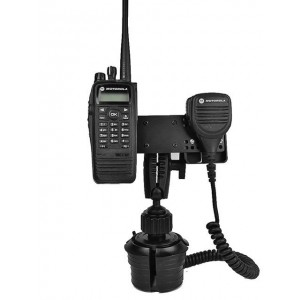 Lido Radio LM-802-EXT Cup Holder Mount With Microphone Holder