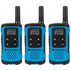 Motorola TALKABOUT T100TP Two Way Radio Triple Pack