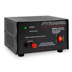 Pyramid PS14KX Bench Power Supply AC-to-DC Power Converter (12 Amp)