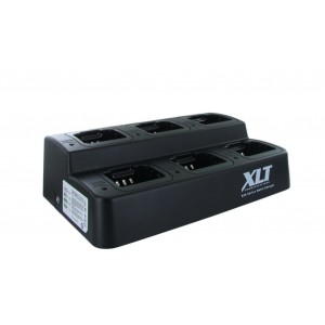 XLT 6-Unit Multi-Charger For Icom BP-232H (F4011/F3011/F14/F24)
