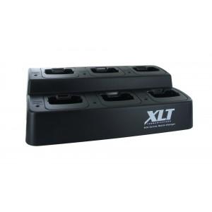 XLT 6-Unit Multi-Charger For Icom BP-279/BP-280 (F1000/F2000/F1000D/F2000D)