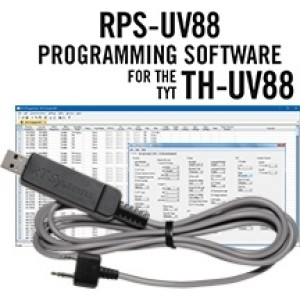 RT Systems Programming Software and Cable For TYT TH-UV88