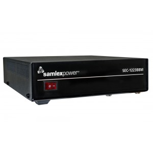 Samlex SEC-1223BBM 23 Amp Switching Power Supply with Battery Backup Circuit