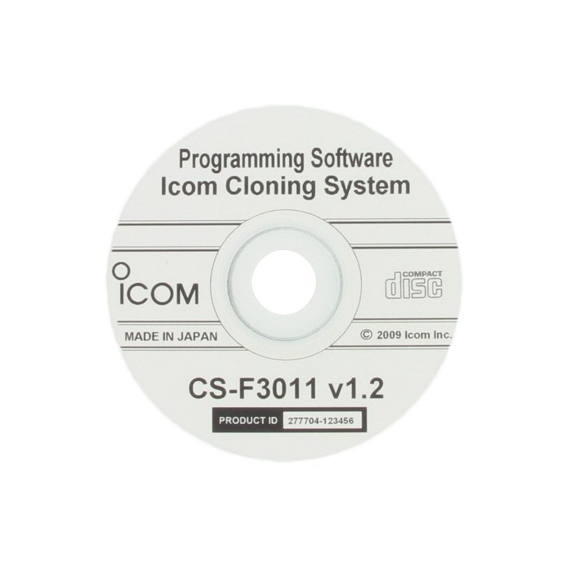 Icom CS-F3011 Programming Software