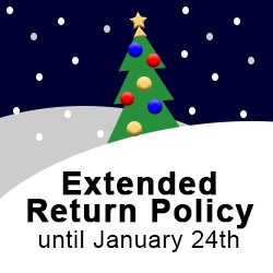 Extended Holiday Return Policy
